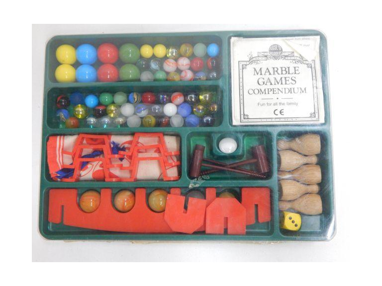 Vintage House of Marbles Compendium Game Set