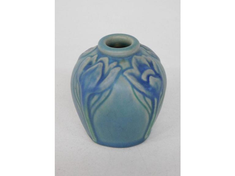 Antique 1904 Van Briggle Bud Vase