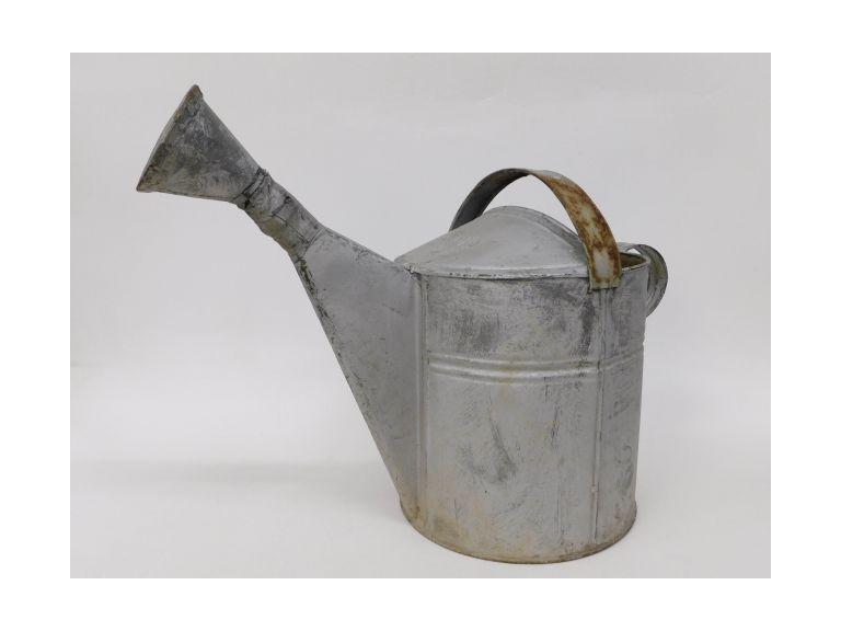 Large, #16 Galvanized Watering Can