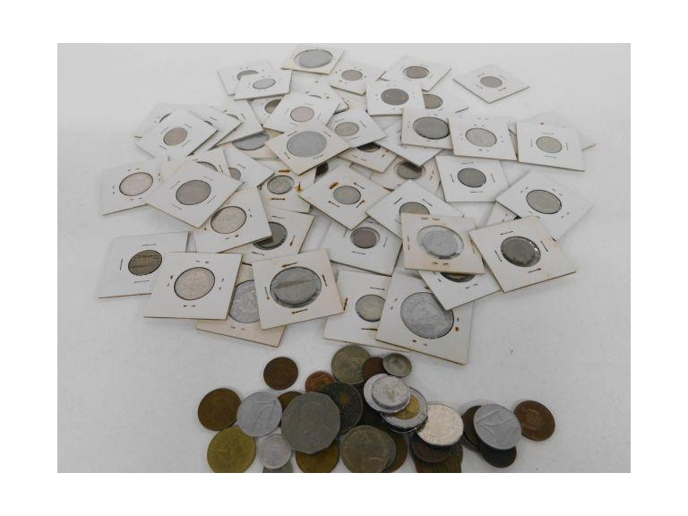 Large Foreign Coin Collection