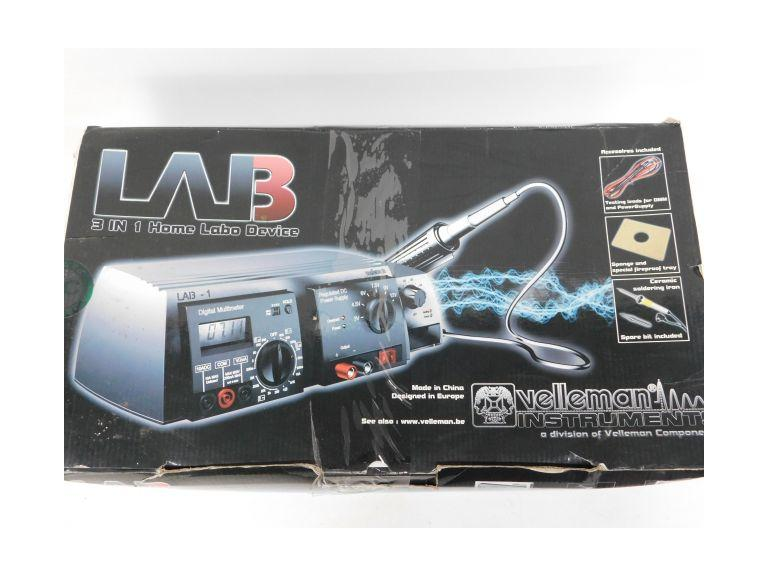 Velleman LAB 3 in 1 Home Soldering Unit