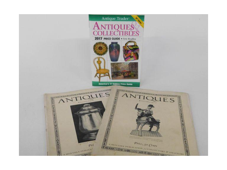 Genuine 1926 and 1927 Antiques Publications and Modern Guide