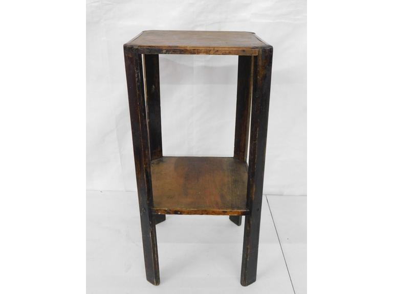 Arts and Crafts Style Wooden Occasional Table or Plant Stand