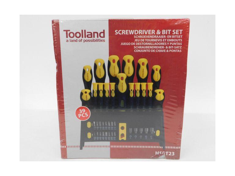 39 Piece Screwdriver and Bit Set
