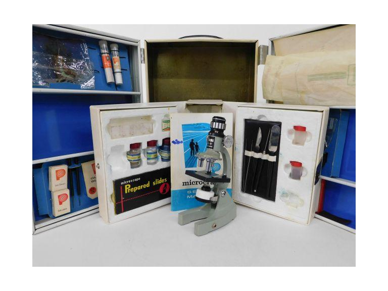 Vintage Porter Microcraft Laboratory Kit