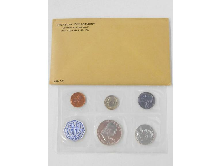 1963 U.S. Mint Proof Coin Set