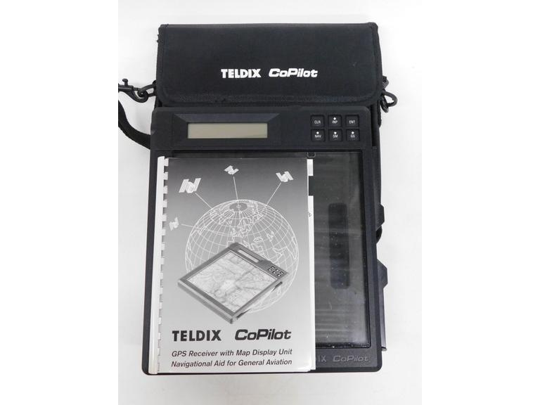 Teldix CoPilot GPS Receiver w/ Map Display