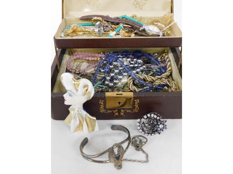Jewelry Box Filled with Unique Pieces!