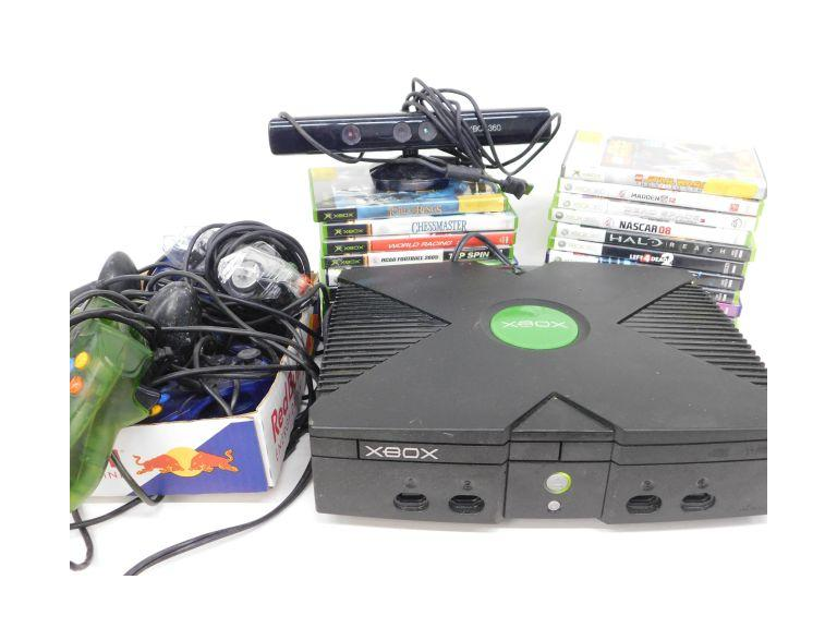 Microsoft Original XBOX w/ Loads of Games