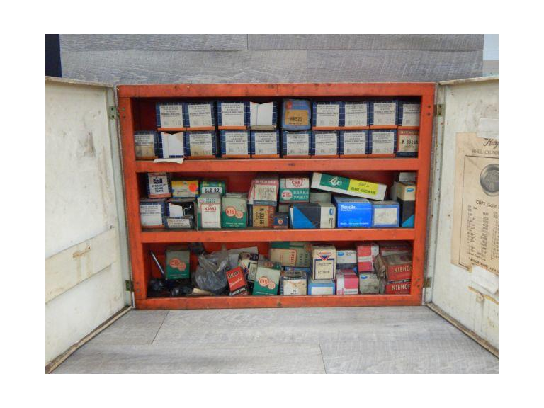 Vintage Full Parts Store Cabinet