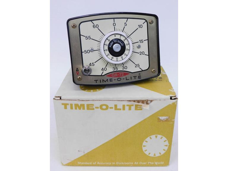 Vintage Time-O-Lite Photographic Timer Model GR 72