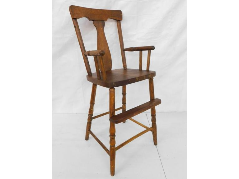 Classic Style Wood High Chair