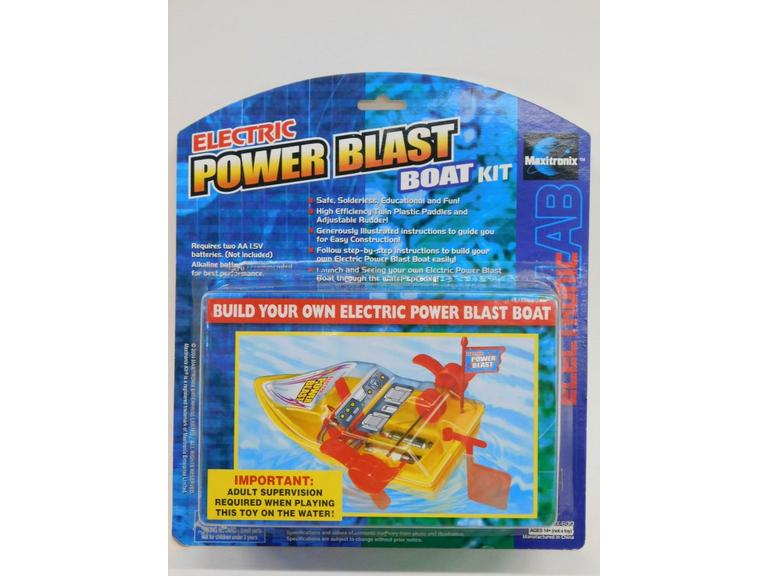 Electric Power Blast Boat Kit