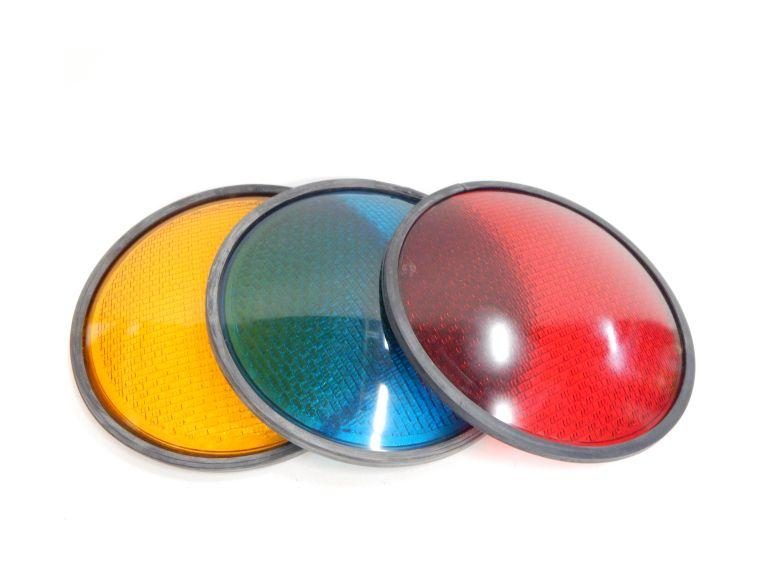 Set  of Glass Street Light Lenses