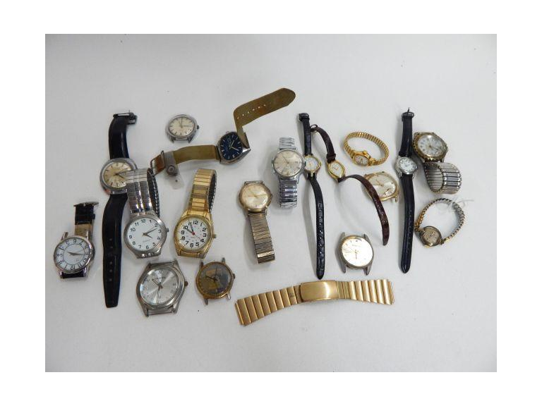 Collection of Old and Vintage Wrist Watches