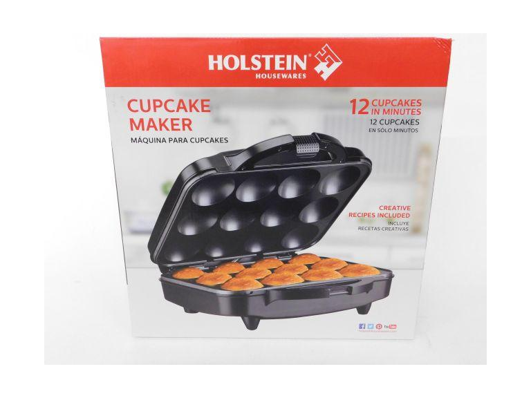New, Holstein 12 Count Cupcake Maker