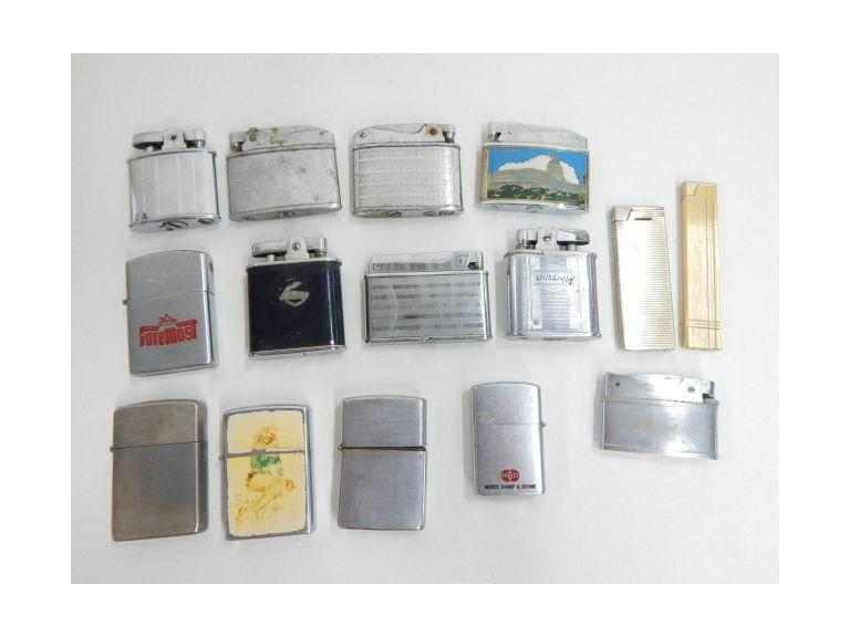 Collection of Old Flint Lighter