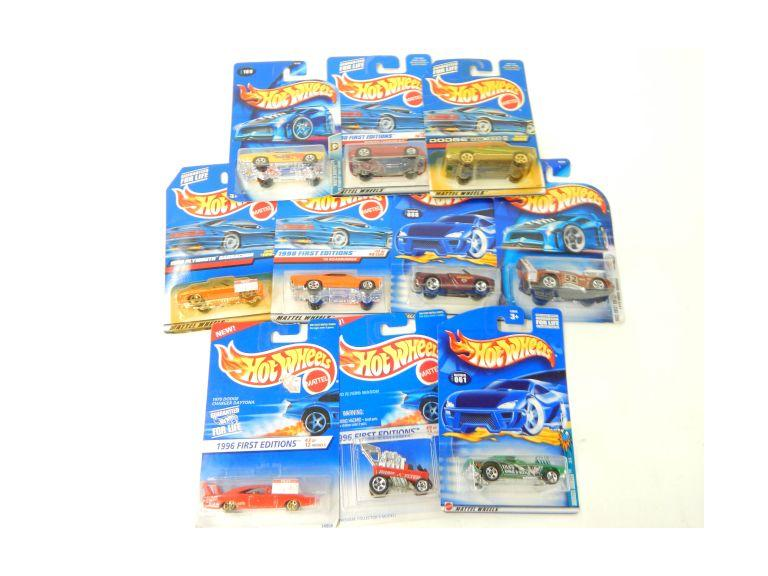 Collection of New in the package Hot Wheels Cars