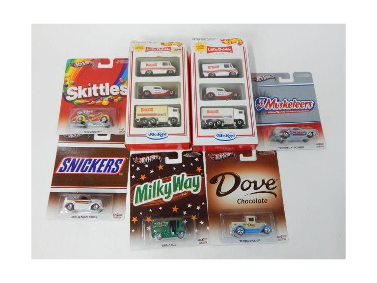Hot Wheels Advertising Die-Cast Collector Cars