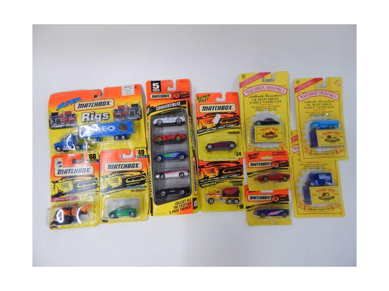 Collection of Matchbox Die-Cat Cars