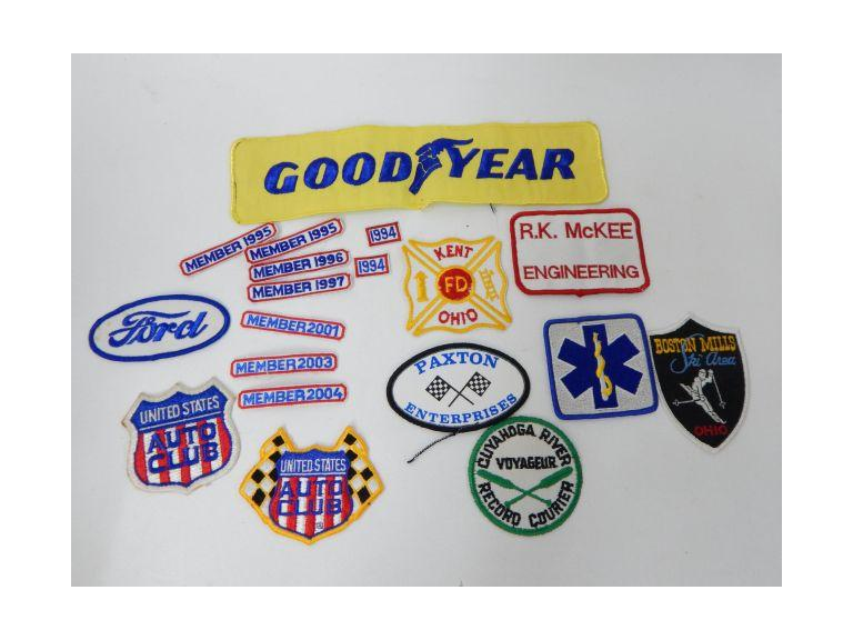 Collection of Various Cloth Patches