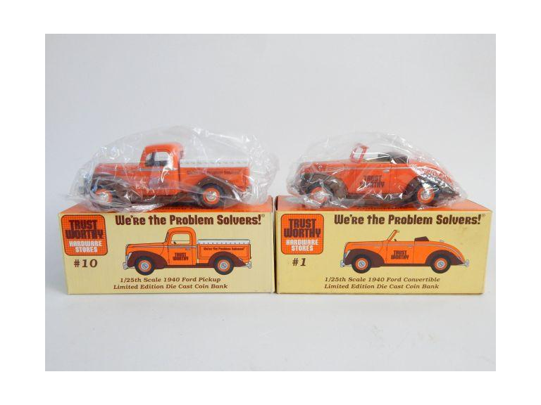 Liberty Classics Die-Cast Trust Worthy Hardware Car & Truck Banks