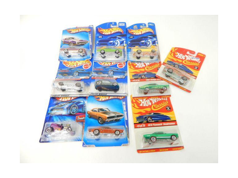 Hot Wheels Die-Cast Toy Cars