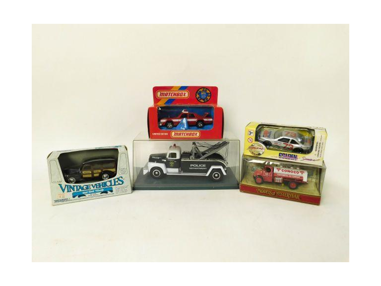 Collection of Die-Cast Toy Cars