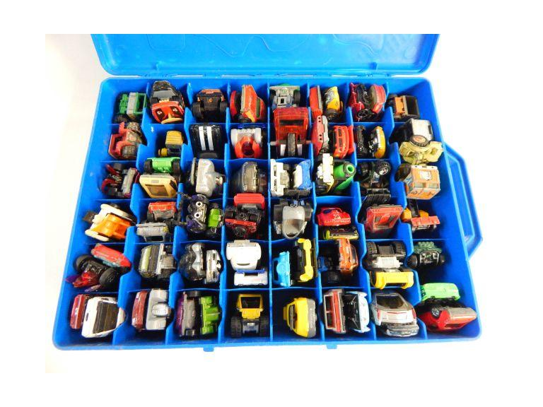 Hot Wheels Case Packed Full of Die-Cast Cars