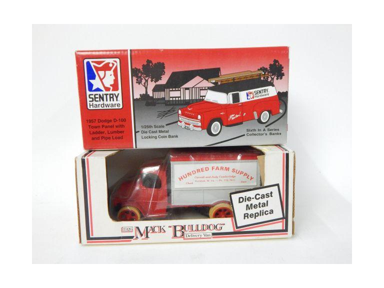 Advertising Die Cast Vehicle Banks