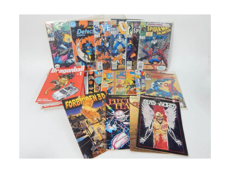 Collection of Vintage and Newer Comic Books