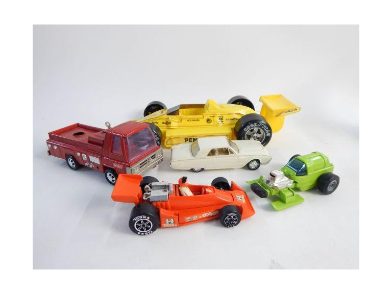 Collection of Old Toy Cars
