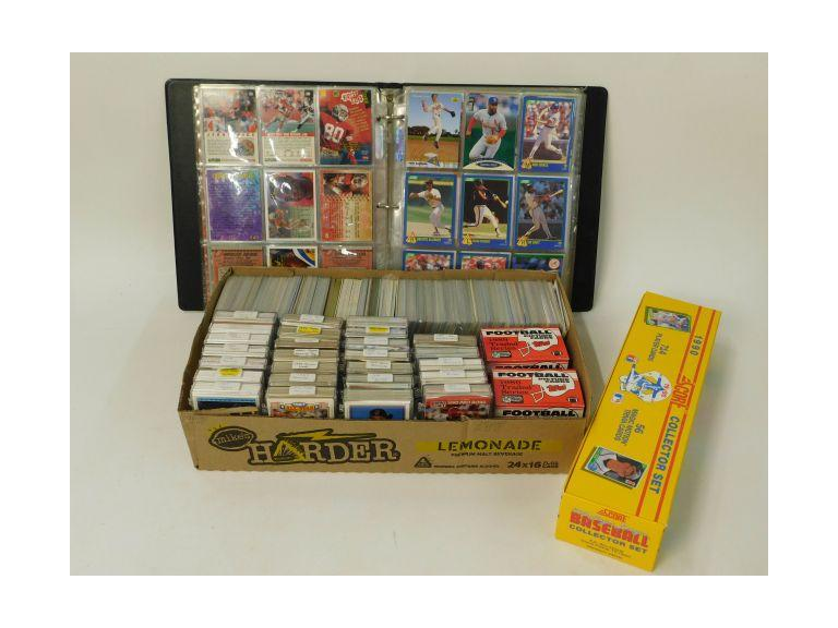 Collection of Various 1980's and 90's Sport  Cards