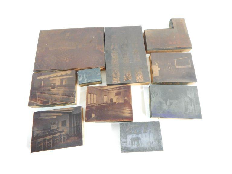 Collection of Photograph Print Stamps
