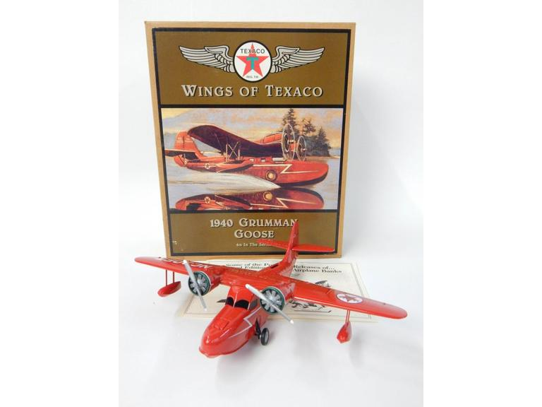 Ertl Wings of Texaco Die-Cast Model Plane