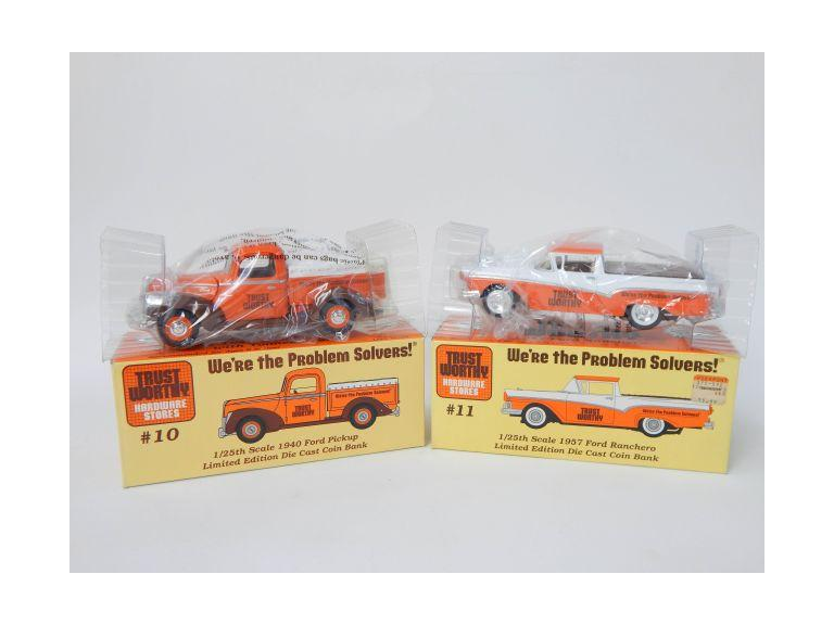 Trust Worthy Hardware Die Cast Classic Truck Banks