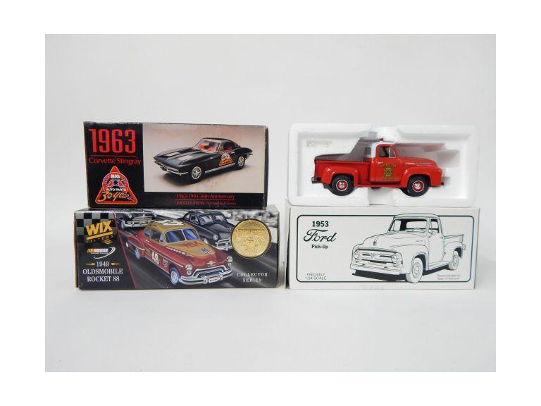Collection of Advertising Die-Cast Vehicles