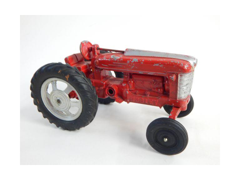 Hubley Die-Cast Toy Tractor