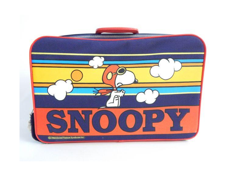 Wonderful 1965 Snoopy Suitcase