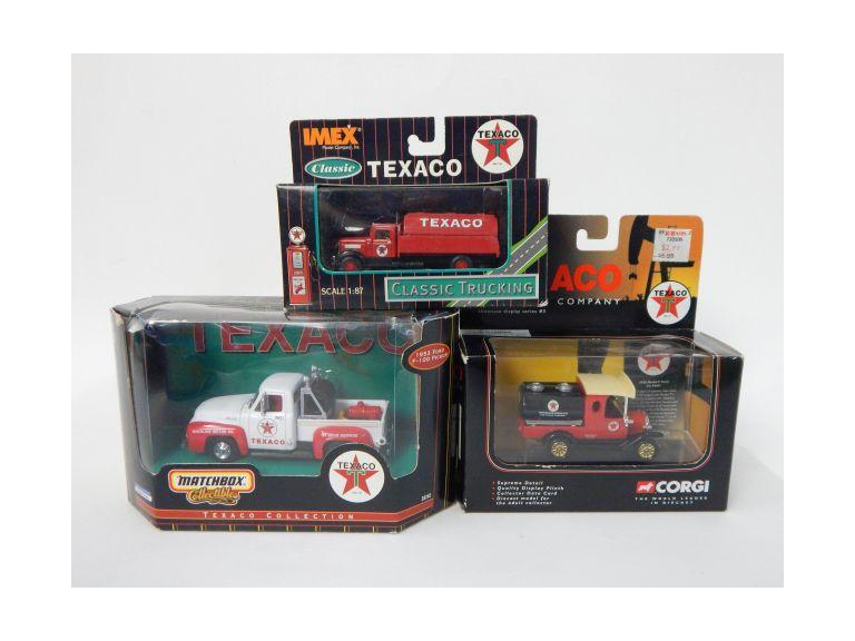 Die-Cast Texaco Collector Cars