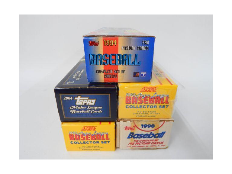 Factory Baseball Card Sets