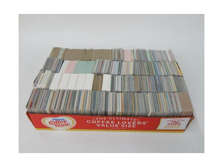Large Collection of Unsorted Sports Cards