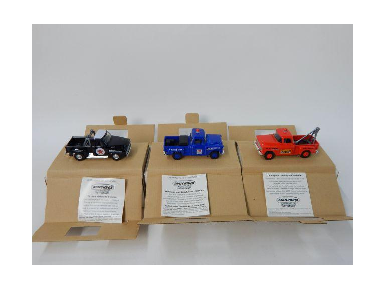Matchbox Collectibles Large Scale Automotive Advertising Die-Cast Trucks
