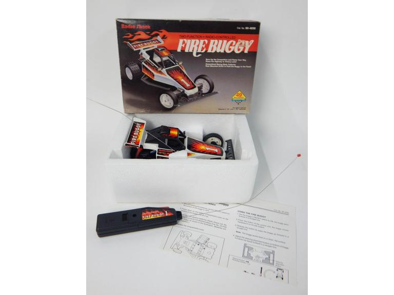 Radio Controlled Toy Fire Buggy