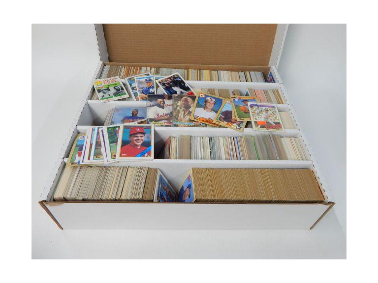 Large Card Box of 1980's -90's Baseball trading Cards