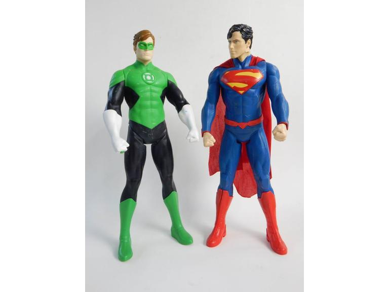 20'' Tall Superman & Green Lantern Action Figures