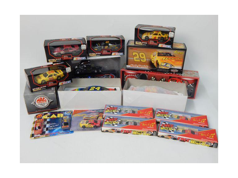 Nascar Collectible Lot with Die-Cast Cars