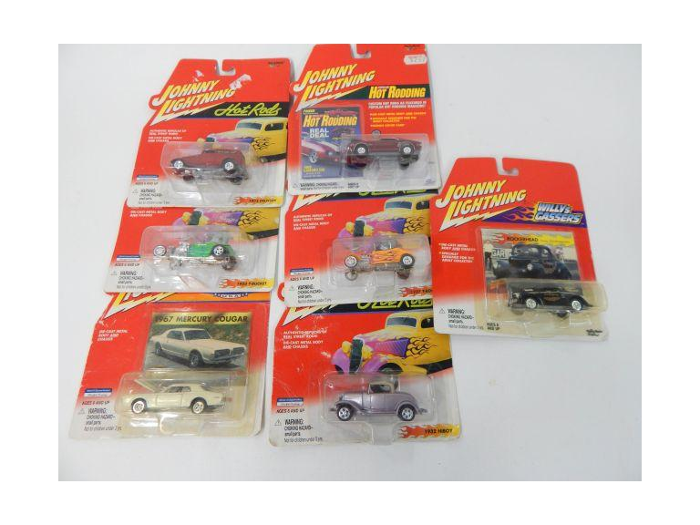 Johnny Lightening Die-Cast Cars
