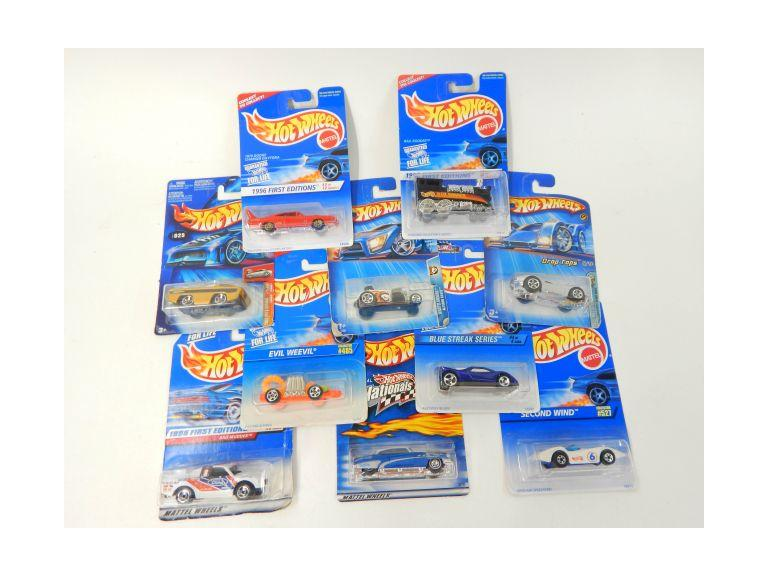 Collection of Hot Wheels Die-Cast Cars