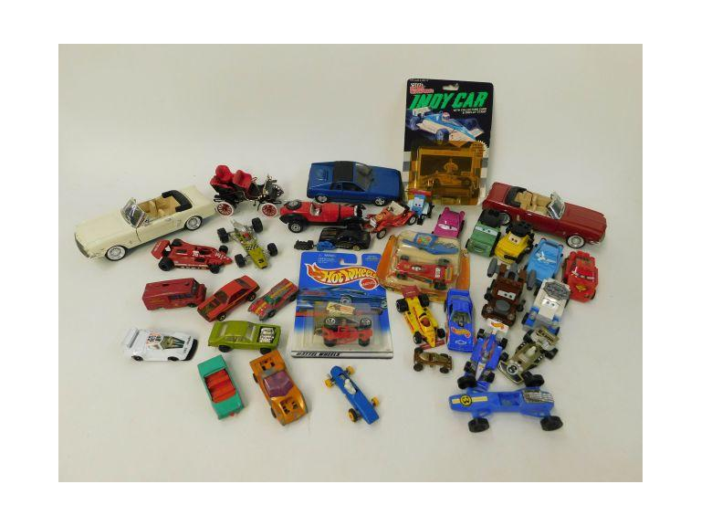 "Collection of Toy Cars with Lego ""Cars"", Hot Wheels and More"